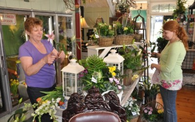 37.  Make a Mom-Stop at the Flower Shop