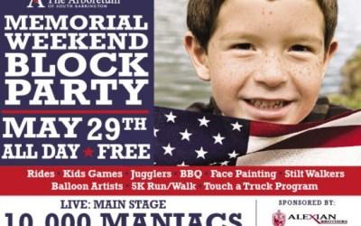 59.  Memorial Weekend Block Party