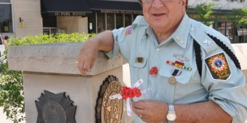 Incoming Commander of Barrington VFW Post 7706, Paul Corwin