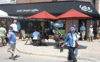 82.  Good Karma at Cook Street Coffee