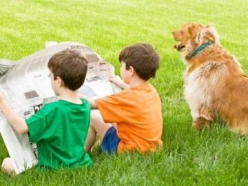 Barrington Area Library's Read to Rover Program