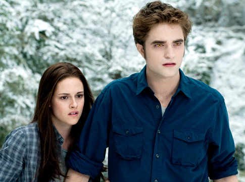 """Bella Swan and Edward Cullen in """"Eclipse"""" - Courtesy of Summit Entertainment"""