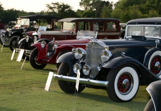 Rare Vehicles on Display at Makray Memorial Golf Club