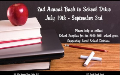 140.  Barrington Back to School Drive