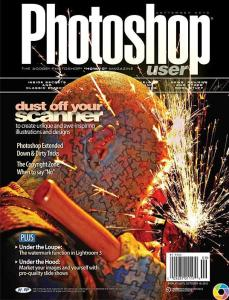 Anthony Tortoriello on the Cover of Photoshop User Magaine