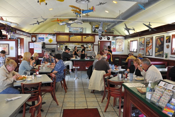 WWII Model Airplanes at the Canteen Restaurant in Barrington