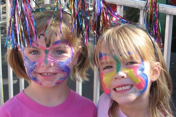 Kids at the Grove School Carnival in Barrington