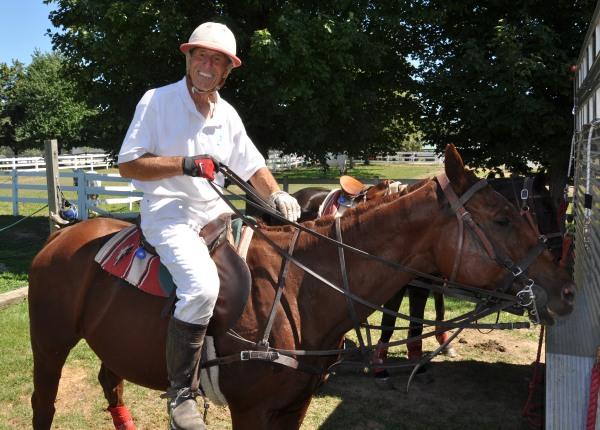Paul Heise Plays Polo in Barrington Hills