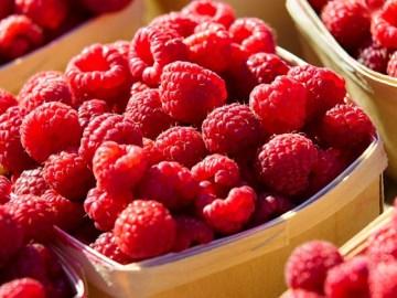 Farmers Market Raspberries