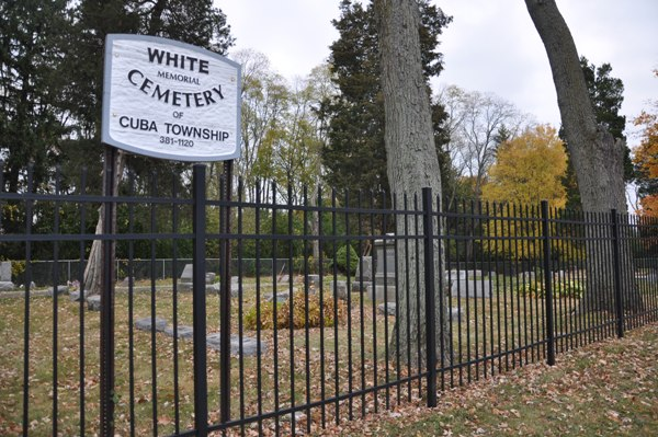 Haunted Cemetery in Barrington