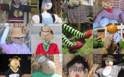 188.  Vote for Barrington's Best Scarecrow