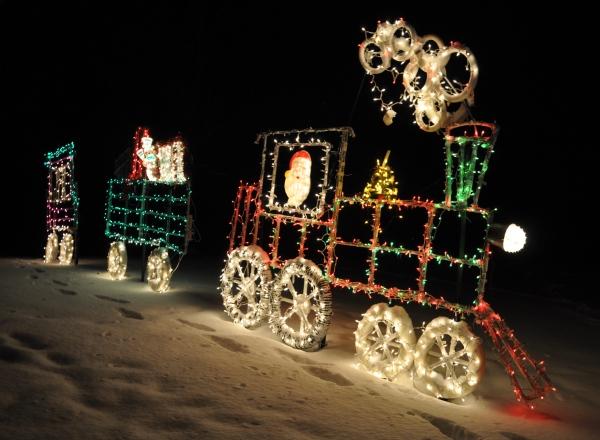 Hagenbring Family Holiday Lights Display