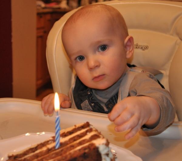 First Birthday in Barrington