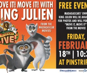 323.  MOVE IT! MOVE IT! with King Julien