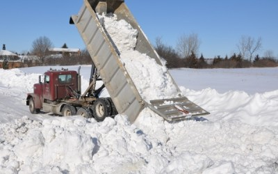 313.  Snow Movers' Mission (Almost) Accomplished