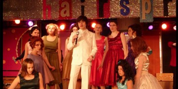 Station Middle School Students Perform Hairspray