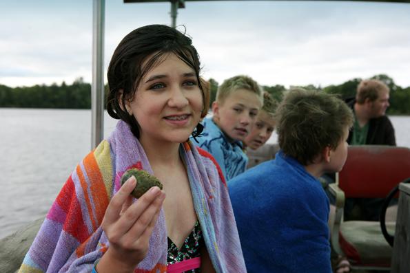 Swimming at Sumer Camp