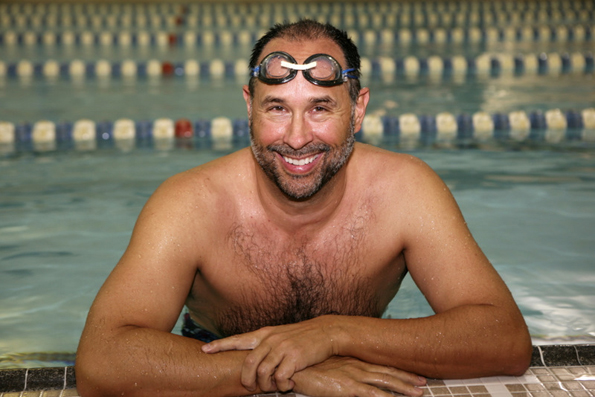 Barrington Man Swims the English Channel
