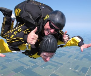 63. Jump out of an Airplane with the Golden Knights