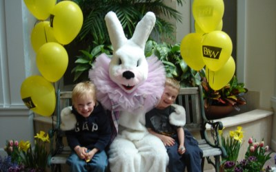 122.  Make a Date with the Easter Bunny in Barrington