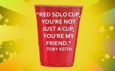 """124.  Monday Morning Mojo:  """"Red Solo Cup"""""""
