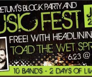 181. Toad the Wet Sprocket at South Barrington Arboretum Music Fest