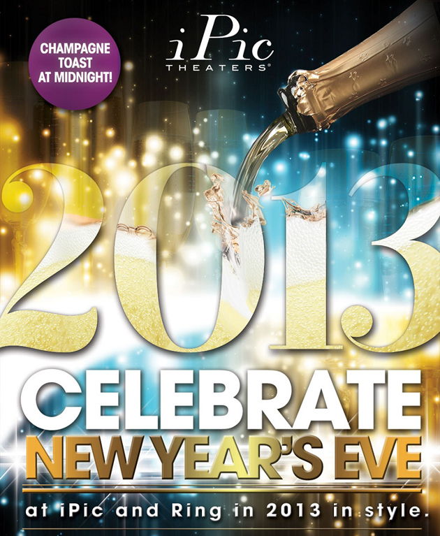 Post - New Year's Eve at iPic Theater