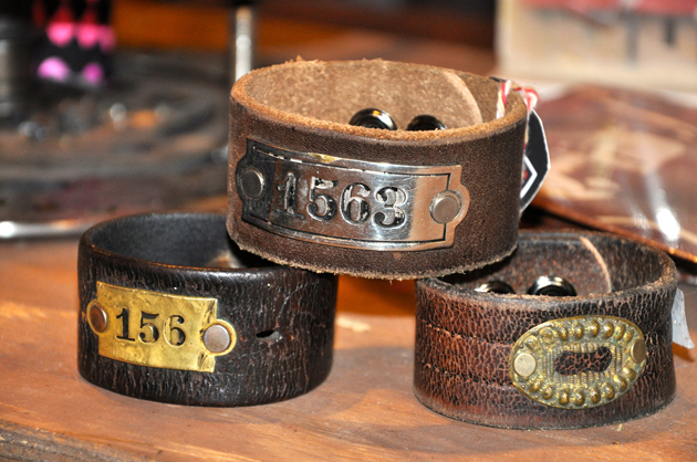 Post - Vintage Leather Cuffs at Grassroots
