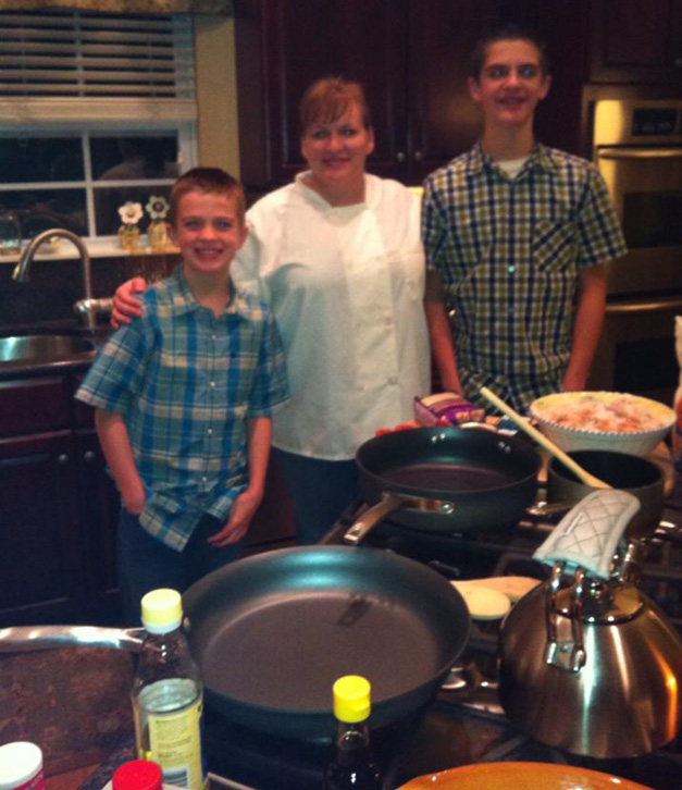 Organizing Dinner In-Home Cooking Class - Courtesy of Kelly Donlea