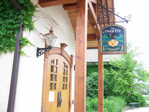 Onion Pub & Brewery - 22221 N. Pepper Road in Lake Barrington, Illinois