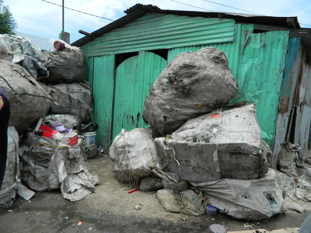 A Home in the Guatemala City Garbage Dump