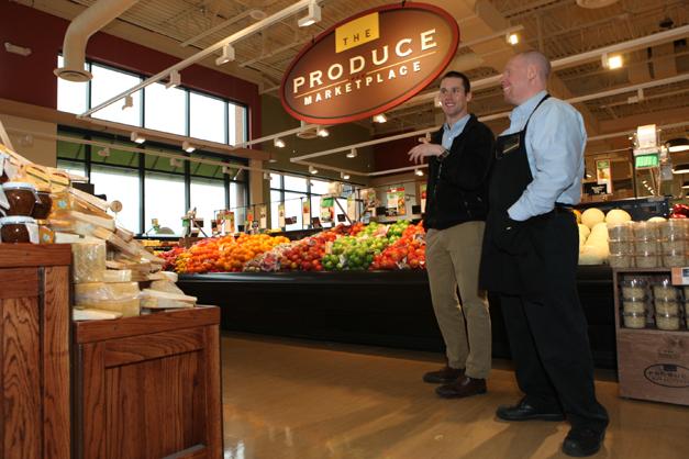 Heinen's Produce Marketplace - Photographed by Julie Linnekin