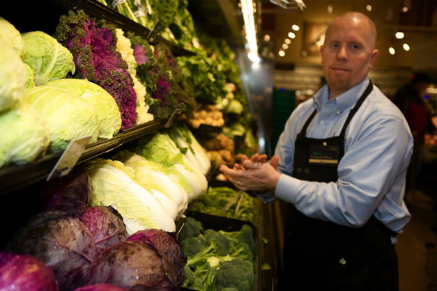 Lettuce Selection at Heinen's - Photographed by Julie Linnekin