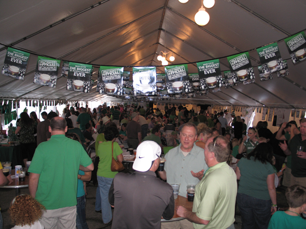 Barrington Celtic Festival Tent - Courtesy of McGonigal's Pub