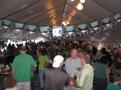 Barrington Celtic Festival Tent - Courtesy of McGonigal's Pub