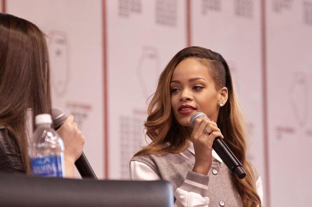 Rihanna Visits Barrington High School - Photographed by Student, Matt Weidner