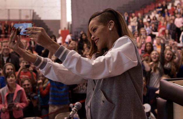 Rihanna at Barrington High School - Photographed by BHS Student, Matt Weidener