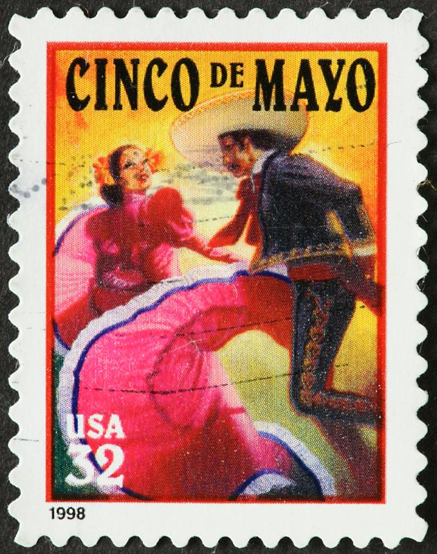 Post - Cinco de Mayo Stamp