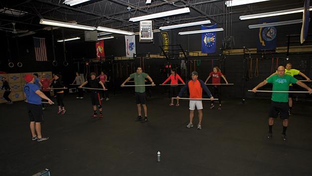 Peer Accountability at CrossFit Barrington - Photographed by Julie Linnekin