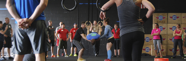 CrossFit Barrington Class - Photo Courtesy of CrossFit
