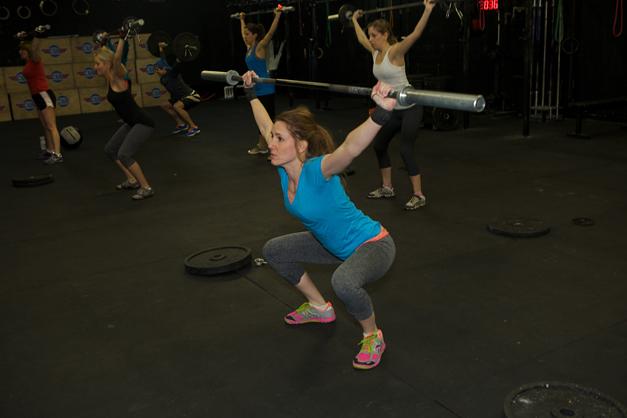 Noreen Morgan at CrossFit Barrington