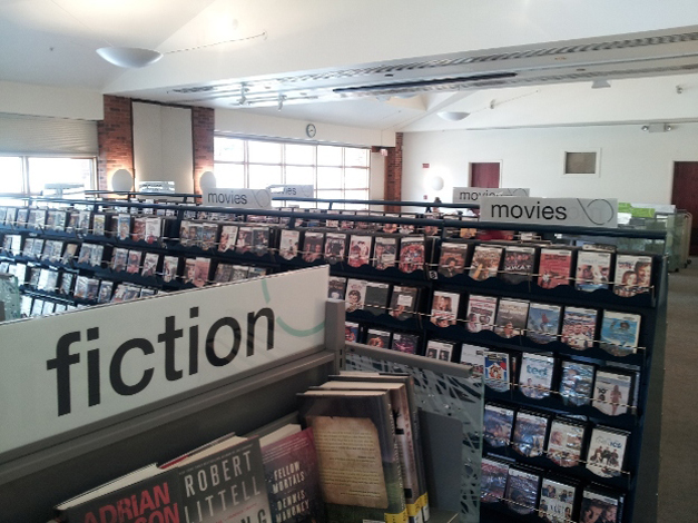 Meeting Room DVD's at the Barrington Area Library - Courtesy of Karen McBride