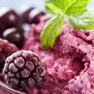 Post 300 - Blue Cherry Frozen Yogurt