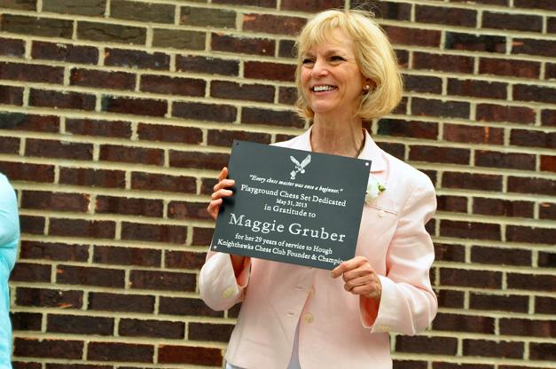 Retiring 3rd Grade Teacher, Maggie Gruber, at Hough Street Elementary School in Barrington