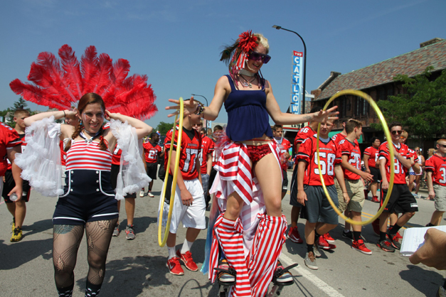 Barrington 4th of July Parade - Photographed by Bob Lee