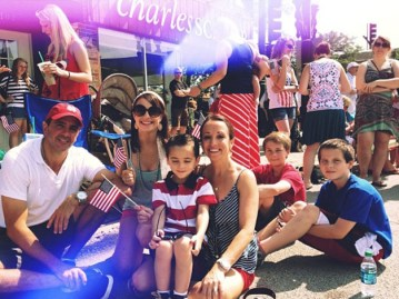 Our family enjoying Our Independence Day! - Joannie Petrungaro