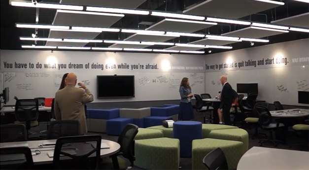 New Small Business Incubator Classroom at Barrington High School