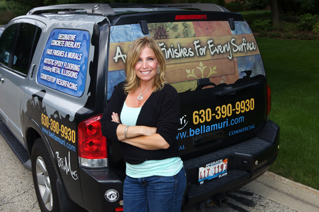 Bella Muri Owner, Melissa Loutos - Photographed by Julie Linnekin