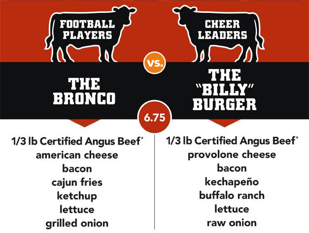 Meatheads Burger Battle:  August 26th - September 22nd