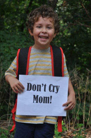AJ's First Day of Kindergarten at North Barrington Elementary! - Very emotional day. :-) - Submitted by mom, Maria Palumbo